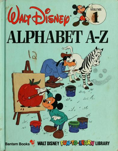 Alphabet A-Z by Walt Disney Productions