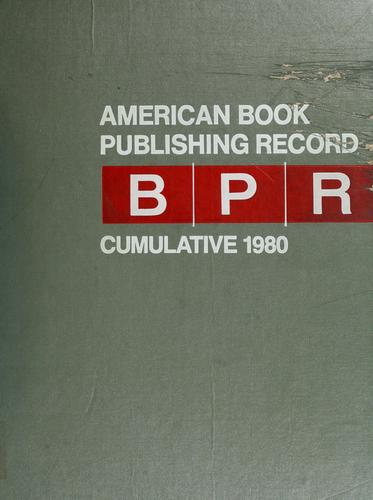 American book publishing record by