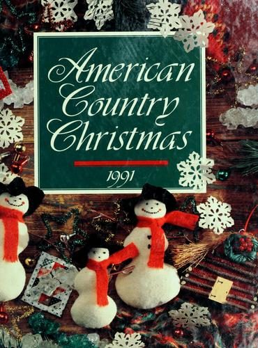 American country Christmas, 1991 by