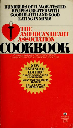 The American Heart Association cookbook by Ruthe Eshleman