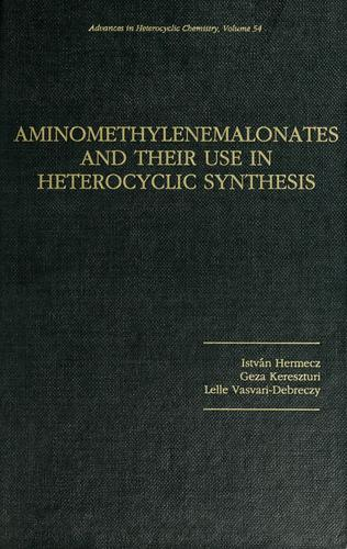 Aminomethylenemalonates and their use in heterocyclic synthesis by