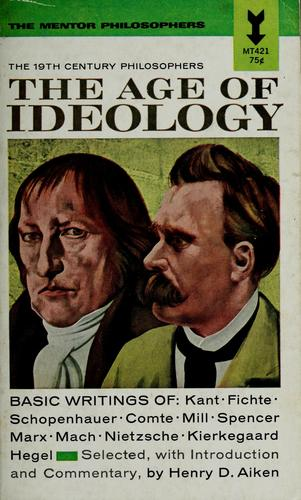 The age of ideology by Henry David Aiken