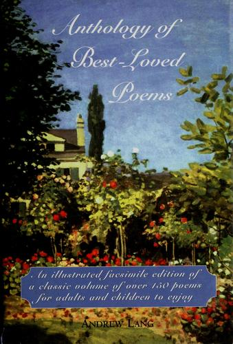 Anthology of best-loved poems by