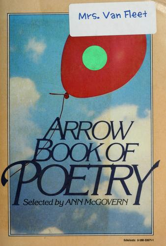 Arrow book of poetry by Ann McGovern