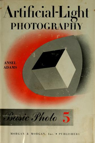 Artificial-light photography by Ansel Adams