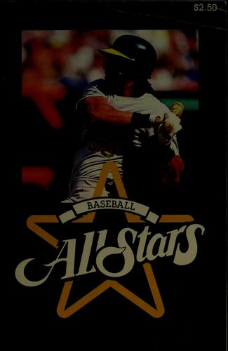 Baseball all stars by