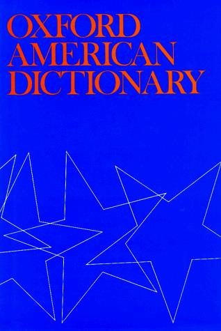 Oxford American dictionary by