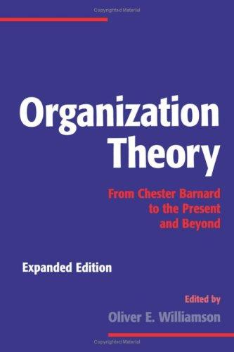 Organization theory by