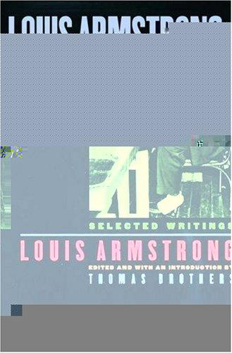 Louis Armstrong, in his own words by Armstrong, Louis