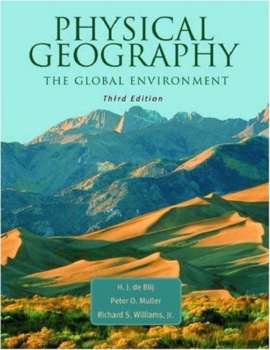 Physical geography of the global environment