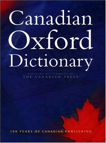 Canadian Oxford Dictionary by Katherine Barber