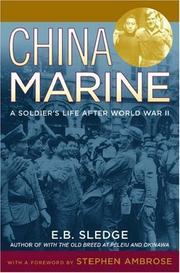 China marine : by Sledge, E. B.