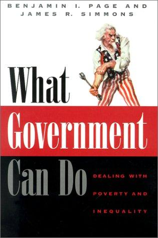 What Government Can Do by Benjamin I. Page, James R. Simmons