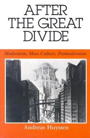 After the great divide by Andreas Huyssen