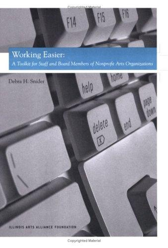 Working Easier by Debra H. Snider