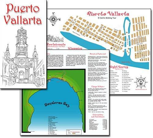 Puerto Vallarta Map by Jerry Norberg