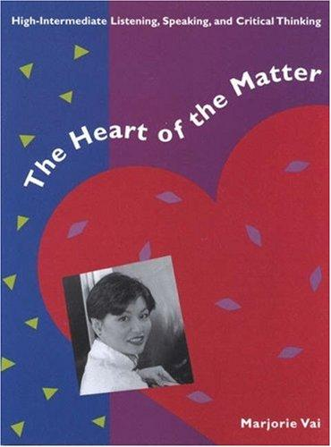 The Heart of the Matter by Marjorie Vai
